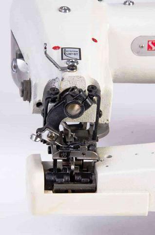 Imagem de Máquina Costura Industrial Barra Ponto Invisivel SS101 Sun Special