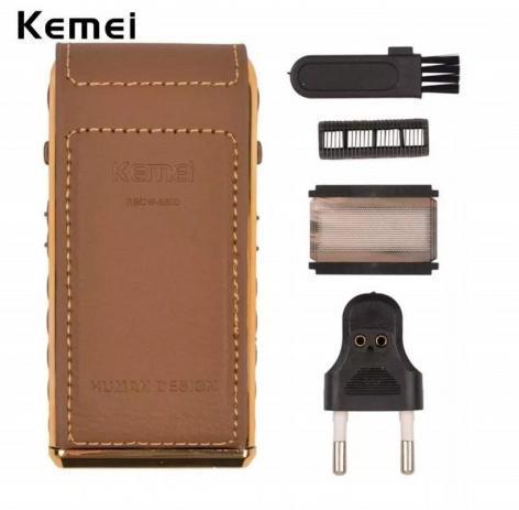 Imagem de Maquina De Acabamento Kemei Electric Hair Clipper KM-5021 + Barbeador Elétrico Kemei Rscw-5500 Super Premium