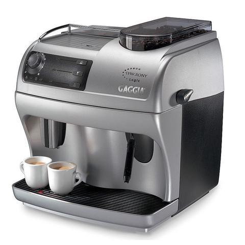 Cafeteira Expresso Gaggia Syncrony Logic Prata 220v