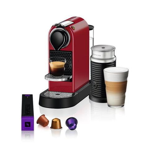 Cafeteira Expresso Nespresso Citiz & Aeroccino Vermelho 110v - A3nc113brcrn