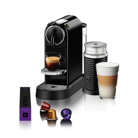 Cafeteira Expresso Nespresso Citiz Preto 110v - D113brbkne