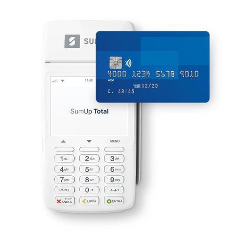 Imagem de Máquina de cartão sem fio e com bobina  SumUp Total