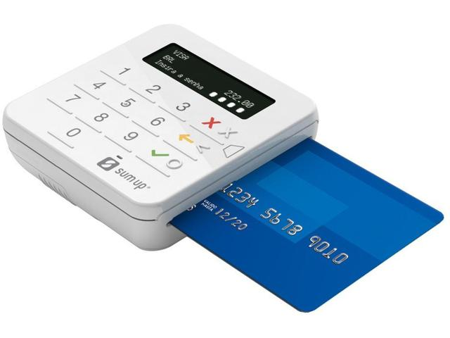 Imagem de Máquina de Cartão SumUp Top Sem Aluguel - Bluetooth - Pax