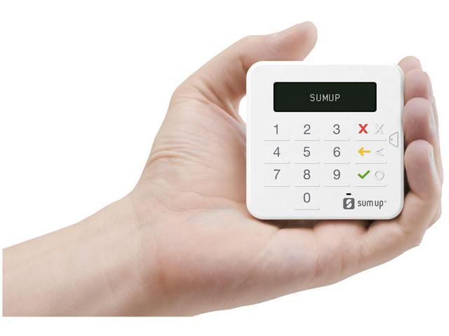 Imagem de Máquina de Cartão SumUp Top Sem Aluguel - Bluetooth - Sumup Top + Capinha de Brinde