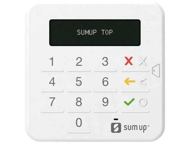 Imagem de Máquina de Cartão SumUp Top Sem Aluguel