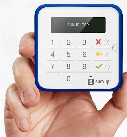 Imagem de Maquina de Cartão SumUp Top Sem Aluguel - Bluetooth