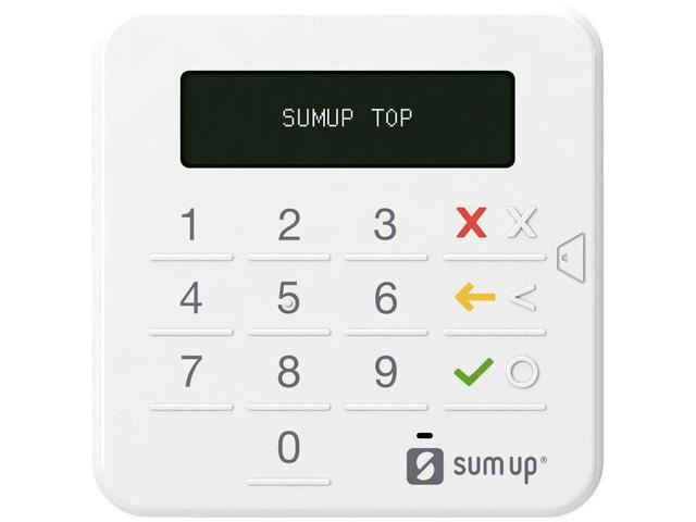 Imagem de Máquina de Cartão Sumup Top sem Aluguel Via Bluetooth -  A Máquina de Cartão número 1