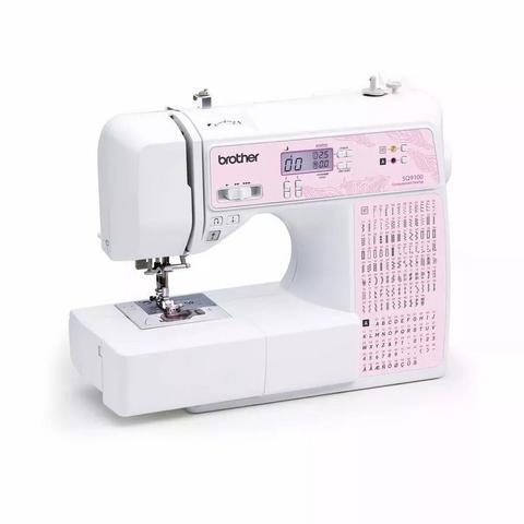 Imagem de Máquina de Costura Brother SQ9100 AutoVolt + Kit contendo Linhas e Calcador Extra