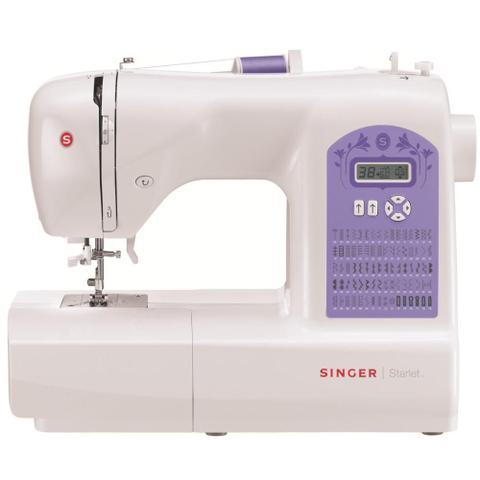 Imagem de Máquina de Costura Doméstica Starlet 6680 Singer - 127V