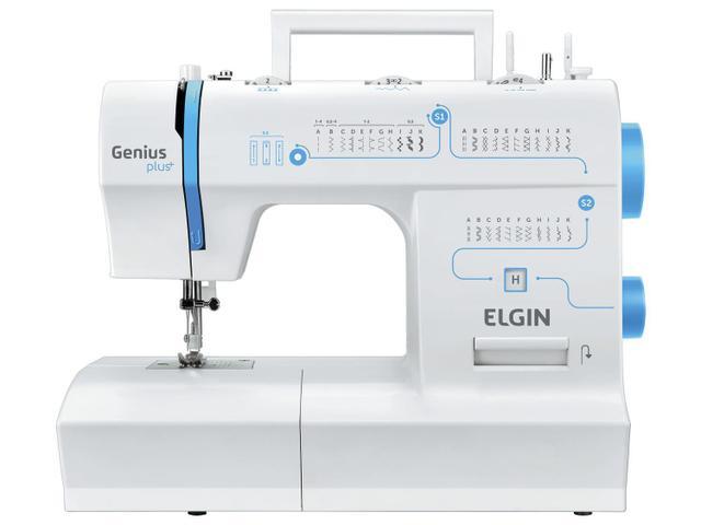 Imagem de Máquina de Costura Elgin Genius Plus+ JX-4035