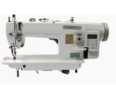 Imagem de Máquina de Costura Industrial Eletrônica, Transporte Duplo, Dente+Calcador, MK0303D4