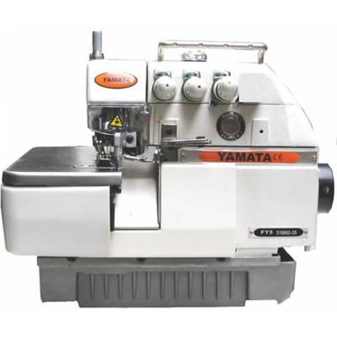 Imagem de Máquina de Costura Industrial Overlock 3 Fios, 1 Agulha, 6000ppm, Transp. Simples, Lubrif. Automática, FY33