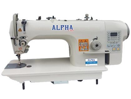 Imagem de Máquina de Costura Industrial Reta Eletrônica c/ Direct Drive, 1 Agulha, 1 Fios, Corte de Linha, Lanç. Pequena, Lubrif. Automática, LH9800D4M
