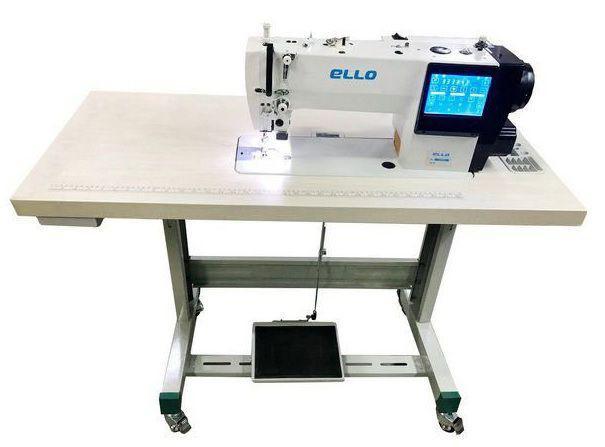 Imagem de Máquina de Costura Industrial Reta Eletrônica ELLO Painel Touch Entrada USB 5000ppm EL-1969