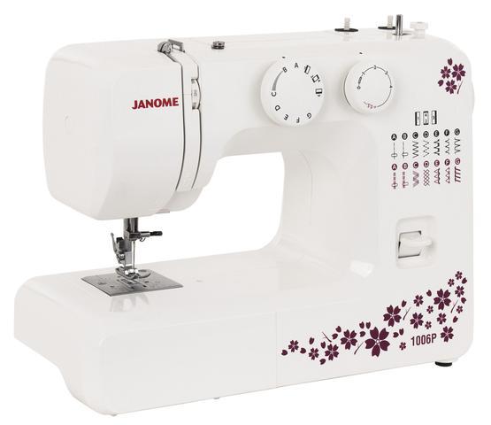 Imagem de Máquina de Costura Janome - 1006P 110V