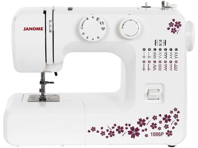 Imagem de Máquina de Costura Janome 1006P  - Portátil
