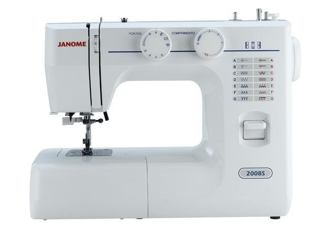 Imagem de Maquina De Costura Janome 2008s 220 Vlts