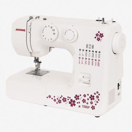 Imagem de Máquina de Costura Mecânica Janome 1006P, 12 Pontos, 110V