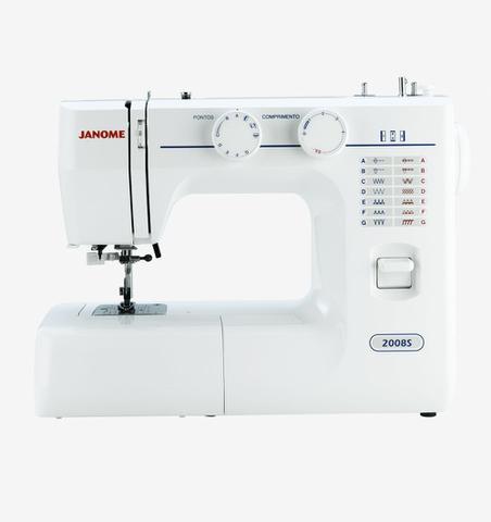 Imagem de Máquina de Costura Mecânica Janome 2008S, 14 Pontos