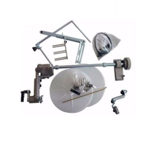 Imagem de Máquina de Costura Reta Eletrônica A4 c/ Direct Drive e Aparelho de Fazer Frufru