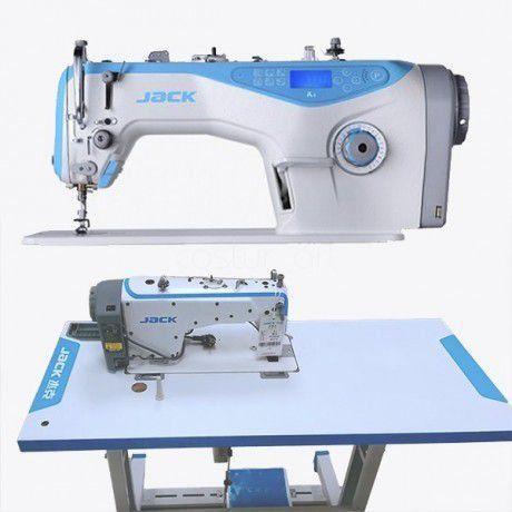 Imagem de Maquina de Costura Reta Eletronica Jack A4 + Kit Inicial com Calcadores