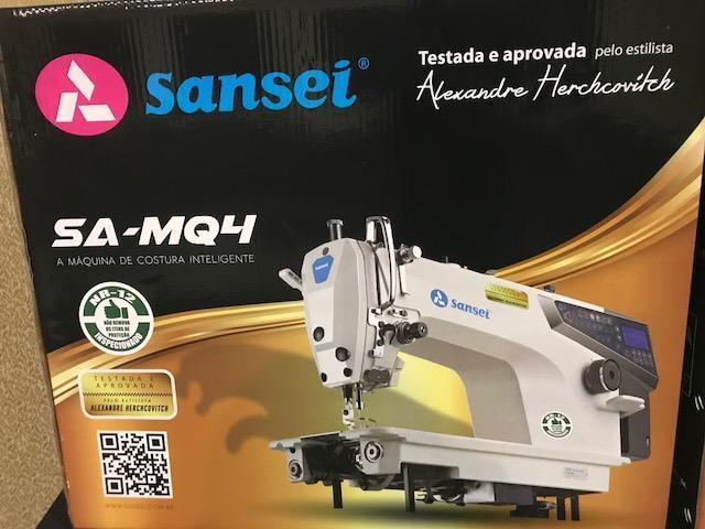 Imagem de Máquina de Costura Reta Eletrônica Sansei SA-MQ4