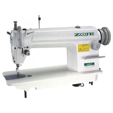 Imagem de Máquina de Costura Reta Industrial Completa, Ponto Fixo, 1 Agulha, 5500ppm, Lubrif. Automática, ZJ8500G