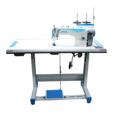Imagem de Maquina de costura reta jack a2cq + kit de calcadores + bobinas extras - 110v