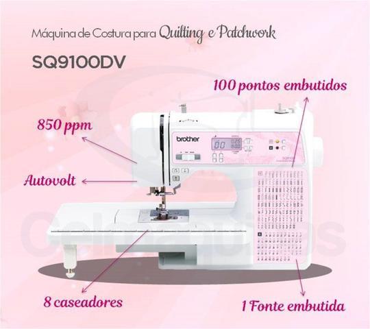 Imagem de Máquina de Costurar para Quilting e Patchwork Brother SQ9100 DV Celmaquinas