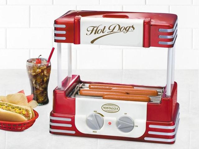 Imagem de Maquina de Hot Dog Roller Retro Nostalgia RHD800 - 110V