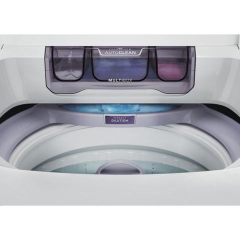 Imagem de Máquina de Lavar 10,5kg Electrolux Branca Turbo Economia, Jet&Clean e Filtro Fiapos (LAC11)