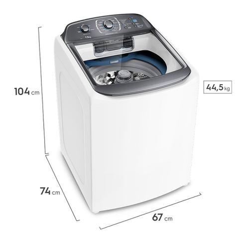 Imagem de Máquina de Lavar 13kg Electrolux Premium Care Silenciosa com Wi-fi, Cesto Inox e Jet&Clean (LWI13)