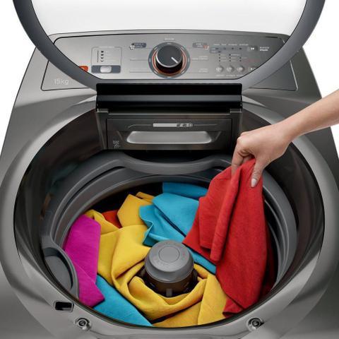Imagem de Máquina de Lavar 15kg Brastemp Titânio BWN15AT 127V