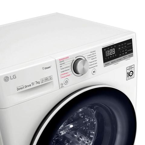 Imagem de Máquina de Lavar Automática Lava e Seca 11KG LG CV5011WG4 Branca