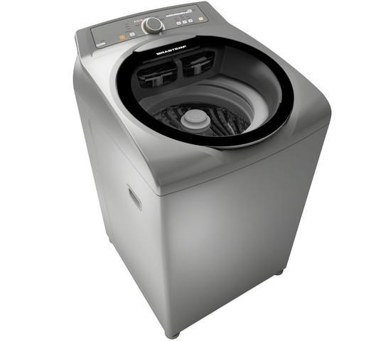 Imagem de Máquina de Lavar Brastemp 11kg cor Inox com sistema Fast Cycle e função Extra Seca