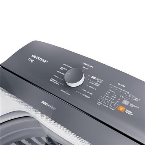 Imagem de Máquina de Lavar Brastemp 12kg Branca com Ciclo Tira Manchas Advanced e Ciclo Antibolinha 110V - BWK