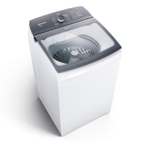 Imagem de Máquina de Lavar Brastemp 12Kg branca com Ciclo Tira Manchas Advanced e Ciclo Antibolinha - BWK12AB