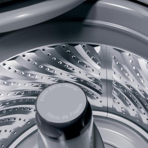 Imagem de Máquina de Lavar Brastemp 12Kg titânio com Ciclo Tira Manchas Advanced e Ciclo Antibolinha