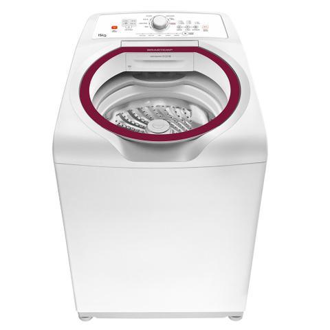 Imagem de Máquina de Lavar Brastemp 15kg com Ciclo Edredom Especial e Ciclo Roupas Intímas
