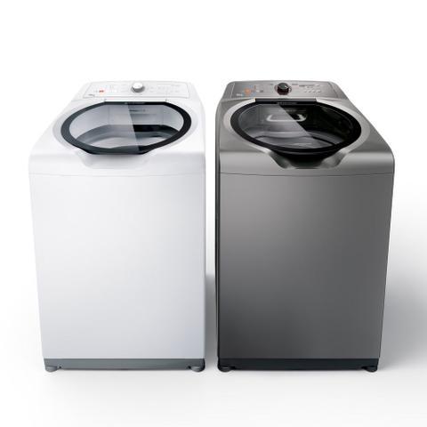 Imagem de Máquina de Lavar Brastemp 15kg titânio com Ciclo Edredom Especial e Enxágue Anti-Alérgico - BWN15AT