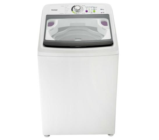 Imagem de Máquina de Lavar Consul 12kg com Eco Enxágue e Função Reutilizar Água - CWS12