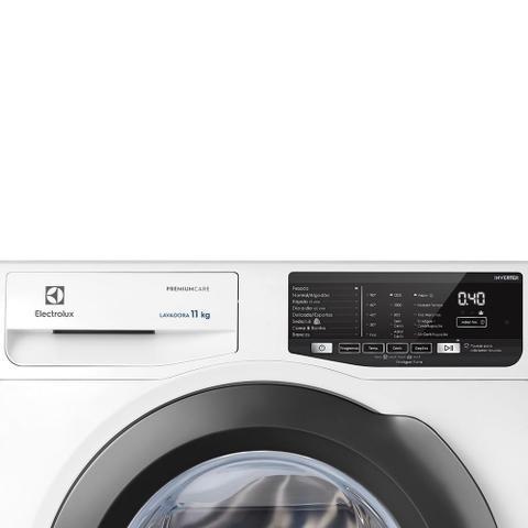 Imagem de Máquina de Lavar Frontal 11kg Electrolux Premium Care Inverter com Água Quente/Vapor (LFE11)
