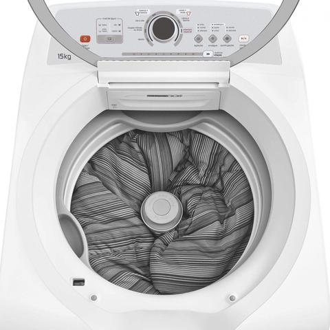 Imagem de Máquina de Lavar Roupas 15kg Automática BWH15AB Brastemp 127V Branco