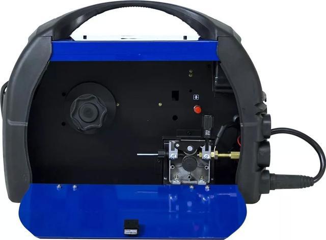 Imagem de Maquina De Solda Inversora 160 Bivolt Mig Tig  Boxer Cilindro Arames