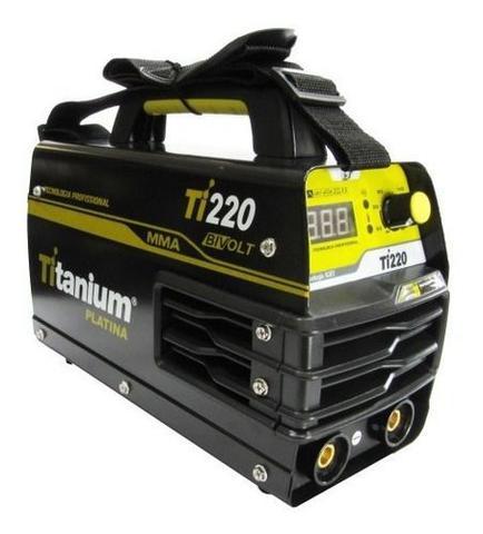 Imagem de Máquina De Solda Inversora 200a Bivolt Ti220 Titanium