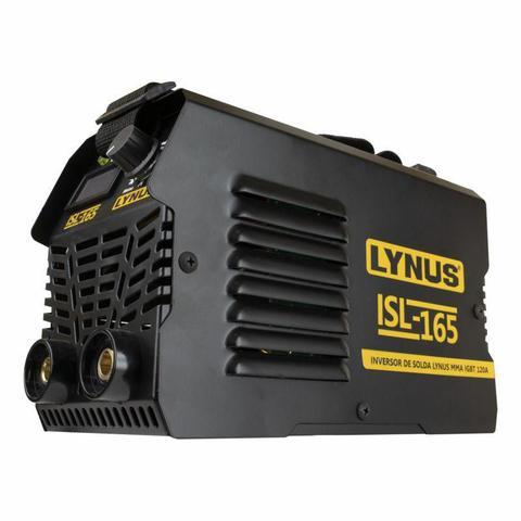 Imagem de Máquina de Solda Inversora e MMA IGBT 120A ISL-165 Standart LYNUS