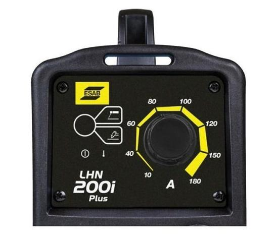 Imagem de Maquina de Solda Inversora - LHN 200 i PLUS 220V 180A - Esab + Toca + Óculos de Proteção