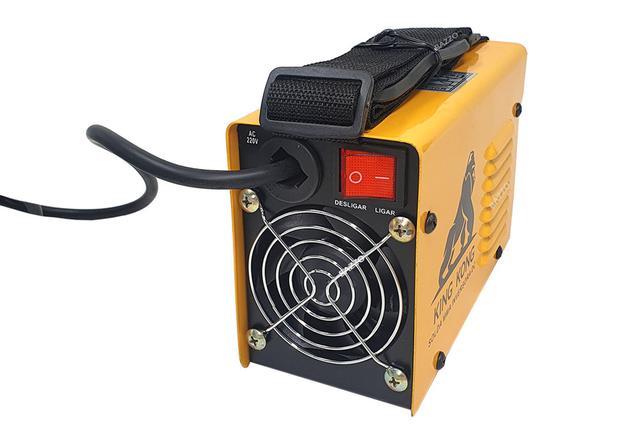 Imagem de Maquina De Solda Inversora Mini 219 Eletrodo Tig Mma Elétrica Portatil King