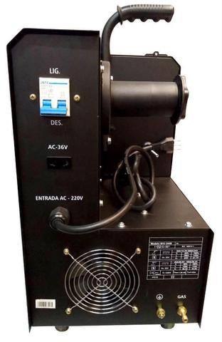Imagem de Máquina de Solda Inversora TIG MIG-200B MMA 220v Titanium 3 em 1 com Tocha