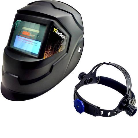 Imagem de Maquina De Solda Tig C Tocha Inversora 140a Handyarc 140i 220v Esab c Mascara Automatica e Cilindro